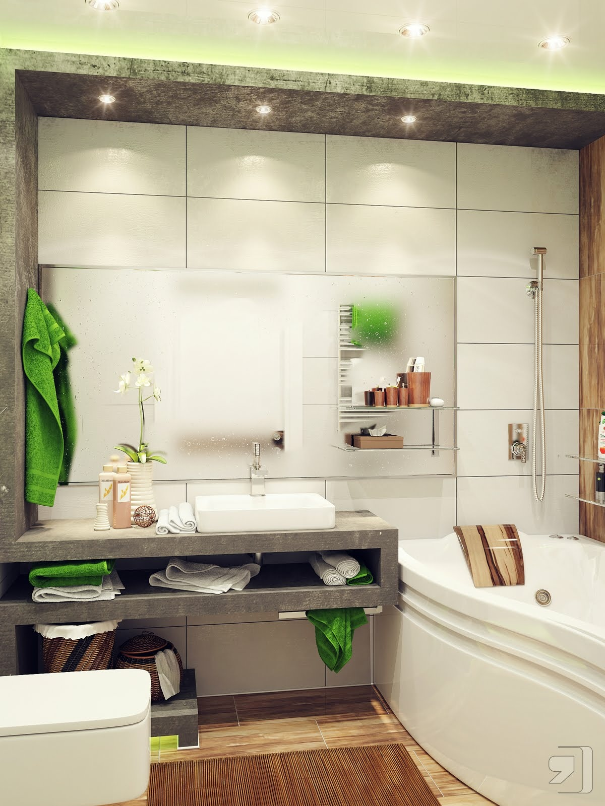 Pomys na azienk design your life for Bathroom designs for small area