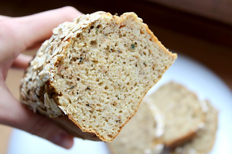 chlebek fasolowy