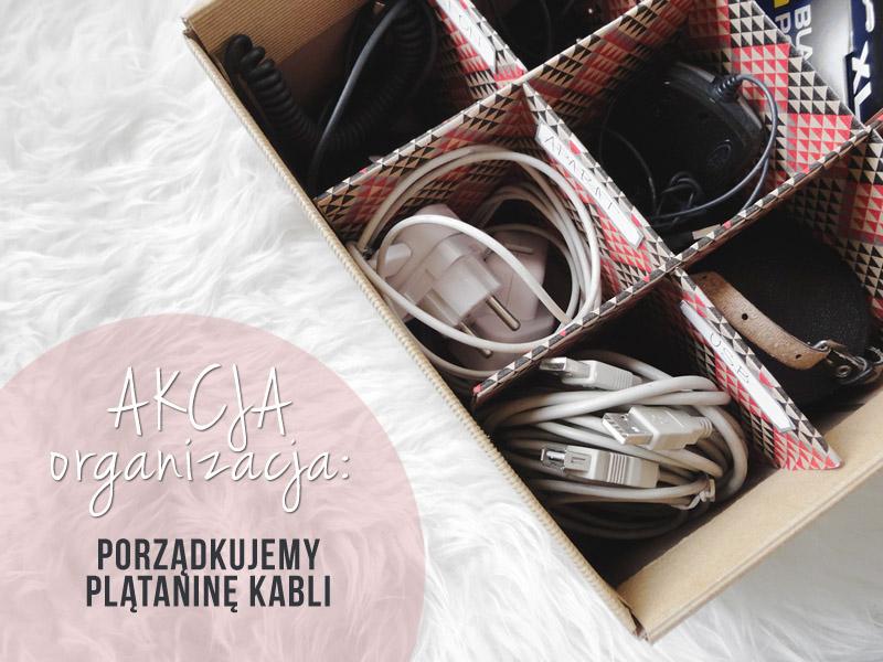 Organizacja kabli - Designyourlife.pl