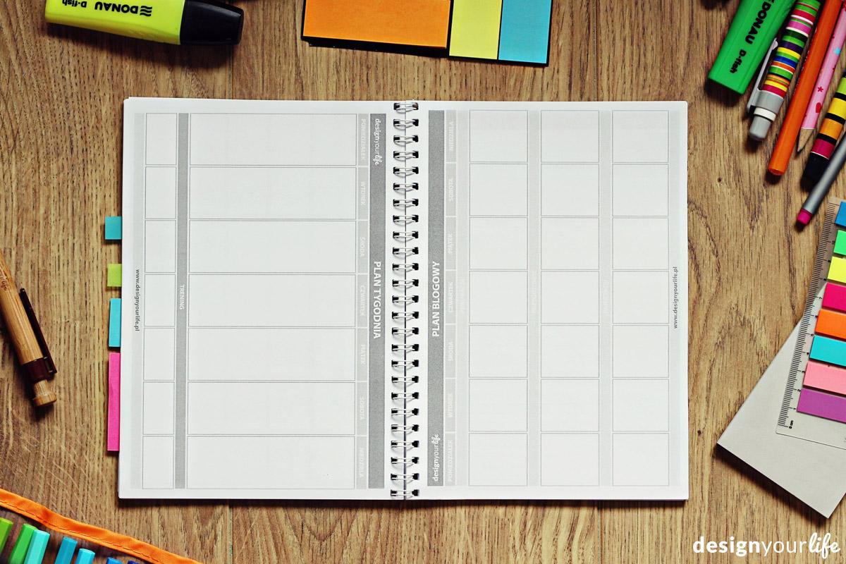 Plan blogowy do wydrukowania