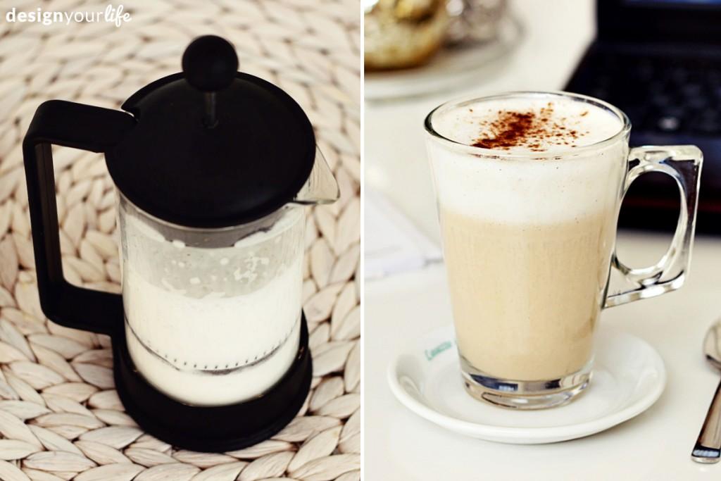 Jak spienić mleko