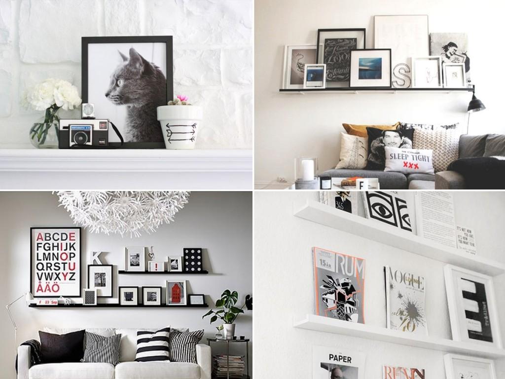 półki na obrazy