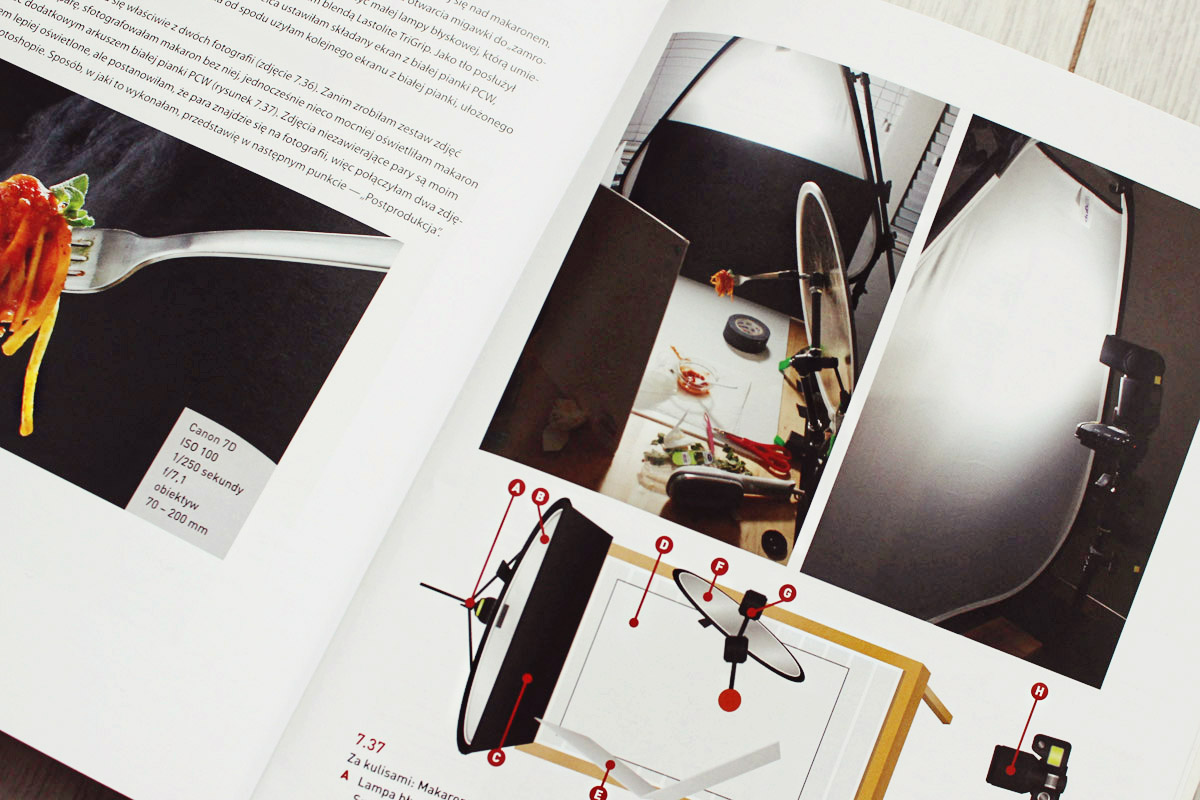 Książka o fotografii kulinarnej
