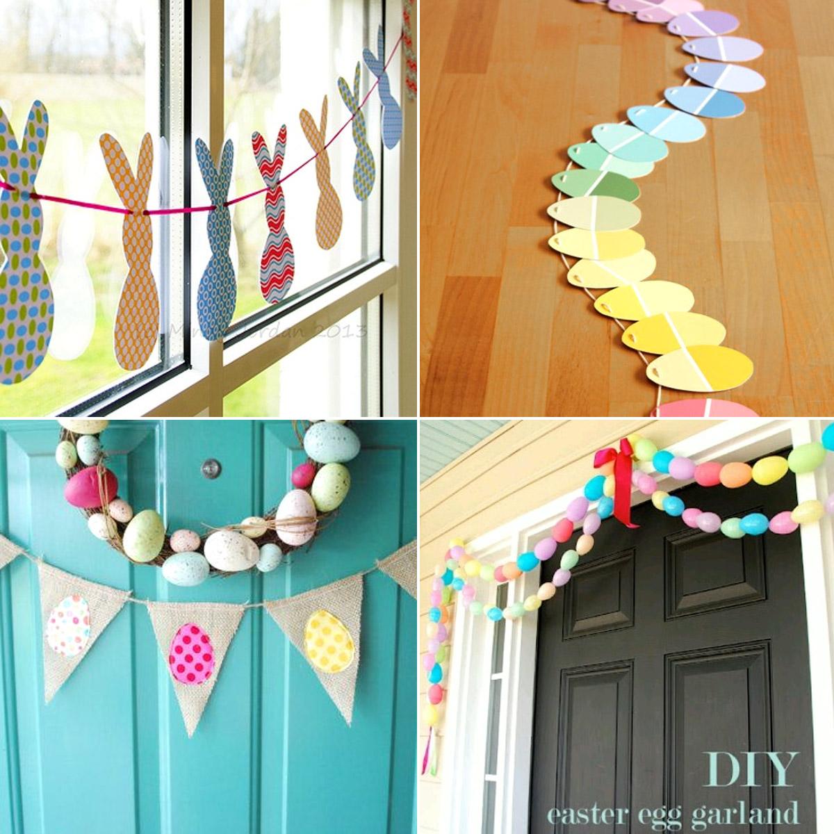 Wielkanocne DIY - girlanda