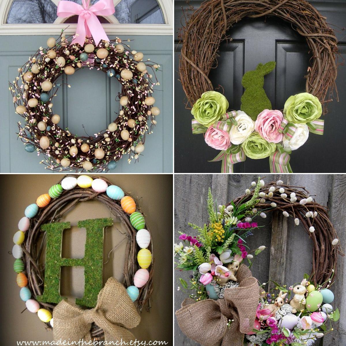 Wielkanocne DIY - świąteczny wieniec