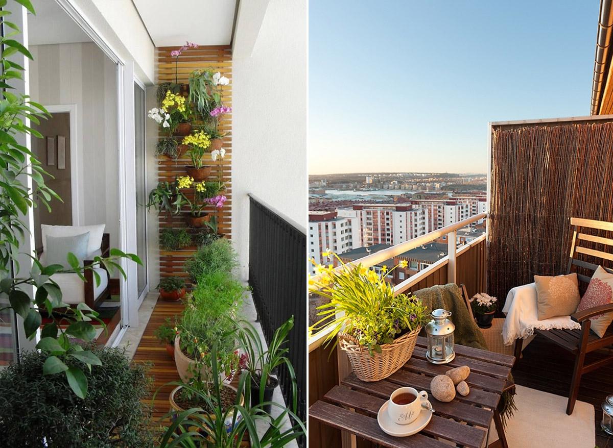 piekne balkony