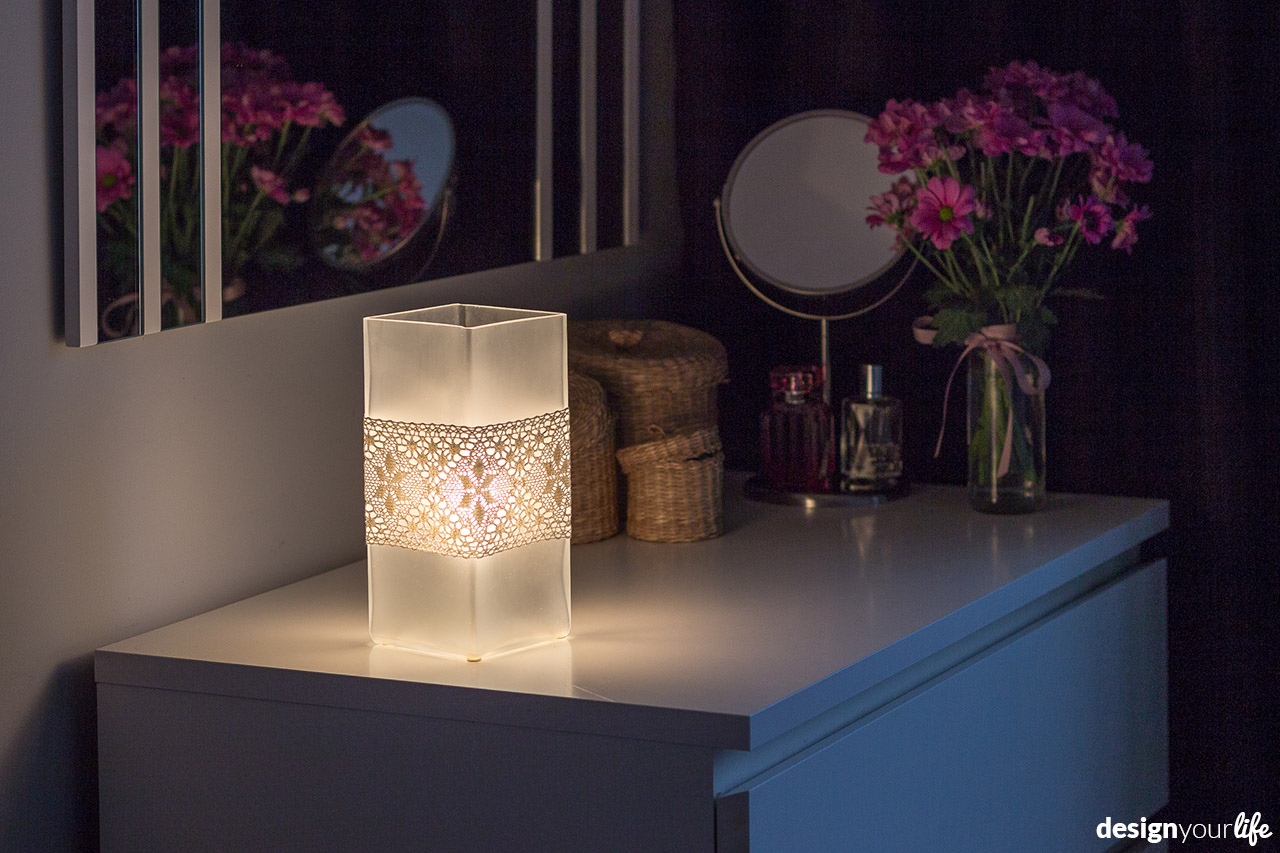 DIY lampa - jak ozdobić klosz? Designyourlife.pl