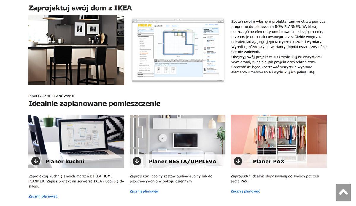 ikea home planner - darmowy program do projektowania wnętrz