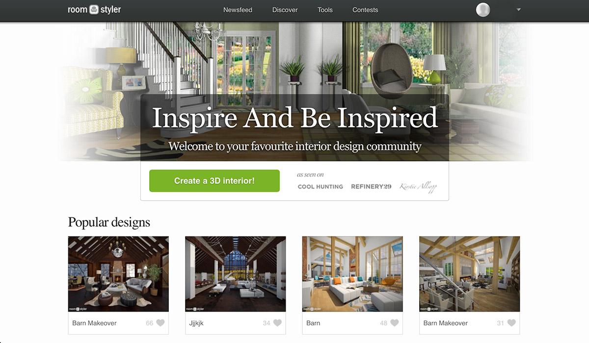 Roomstyler - darmowy program do projektowania wnętrz