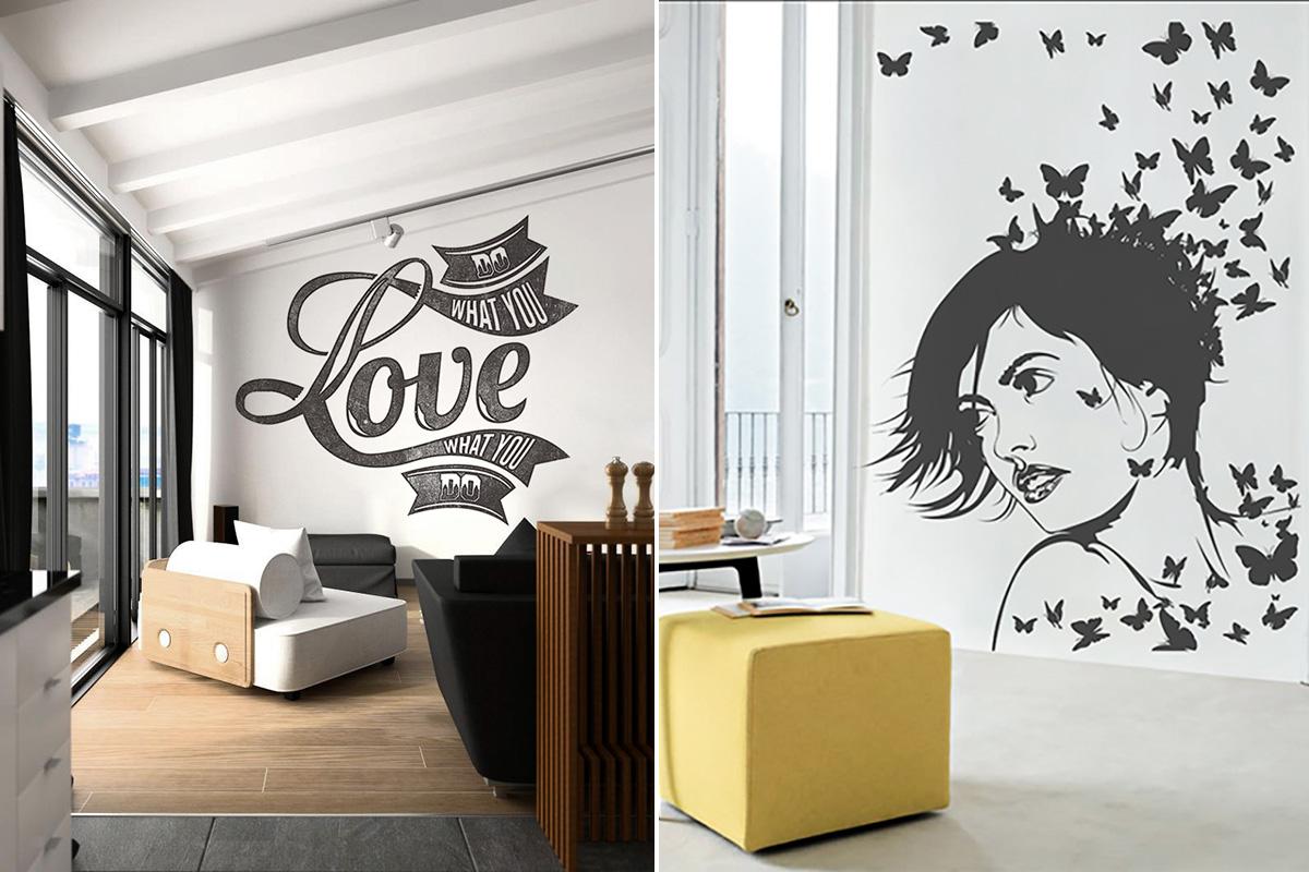 Pixers naklejna na ścianę - Designyourlife.pl