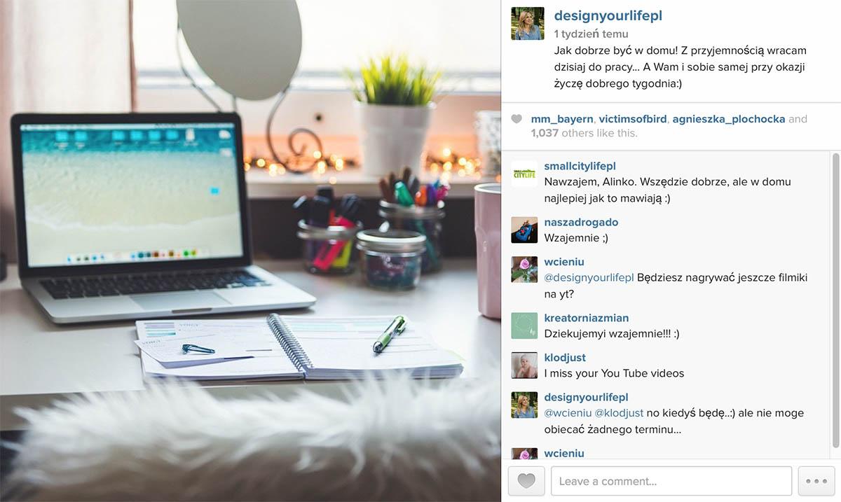 Insta-luty - Designyourlife.pl