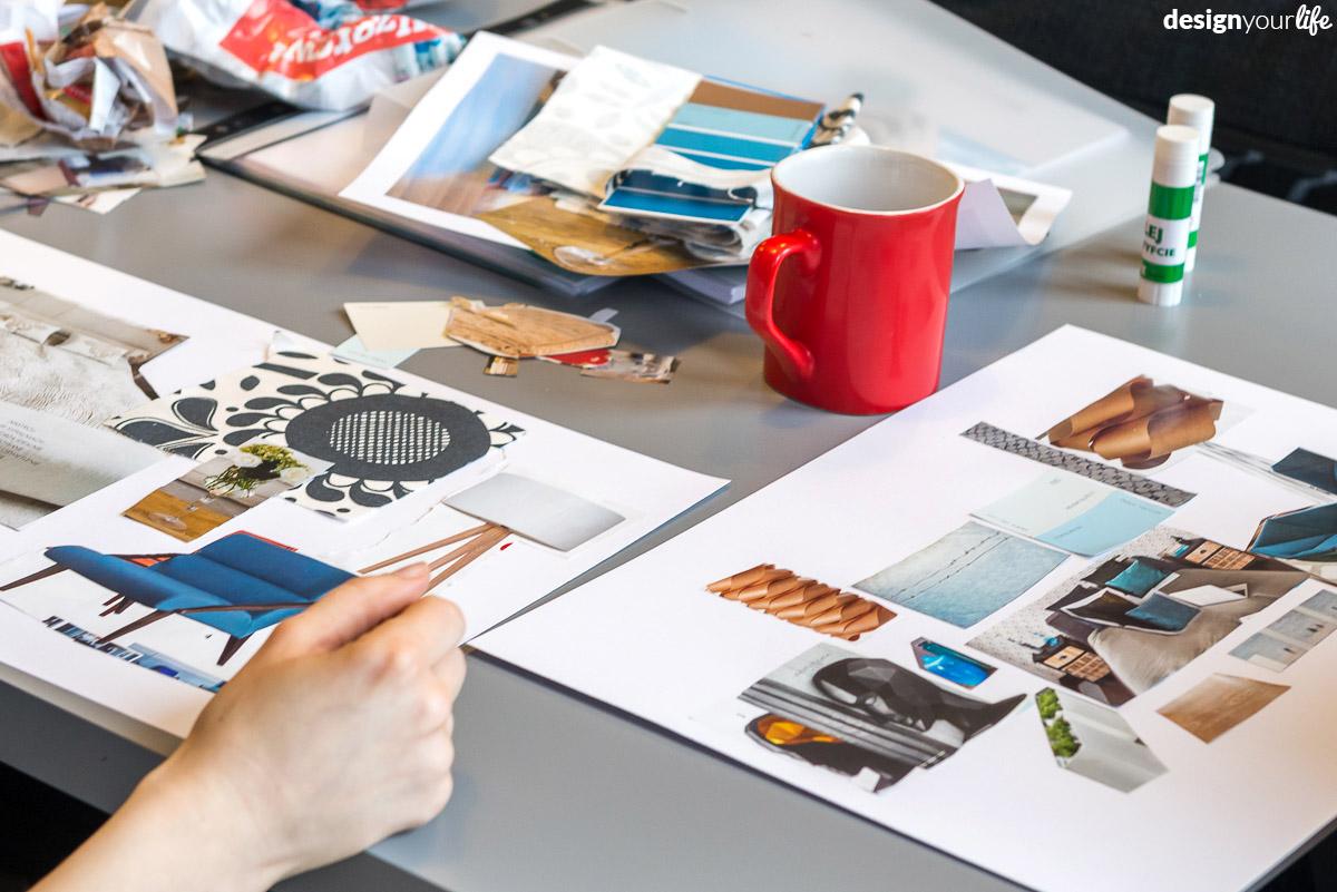 Moodboard dla wnętrza - Designyourlife.pl