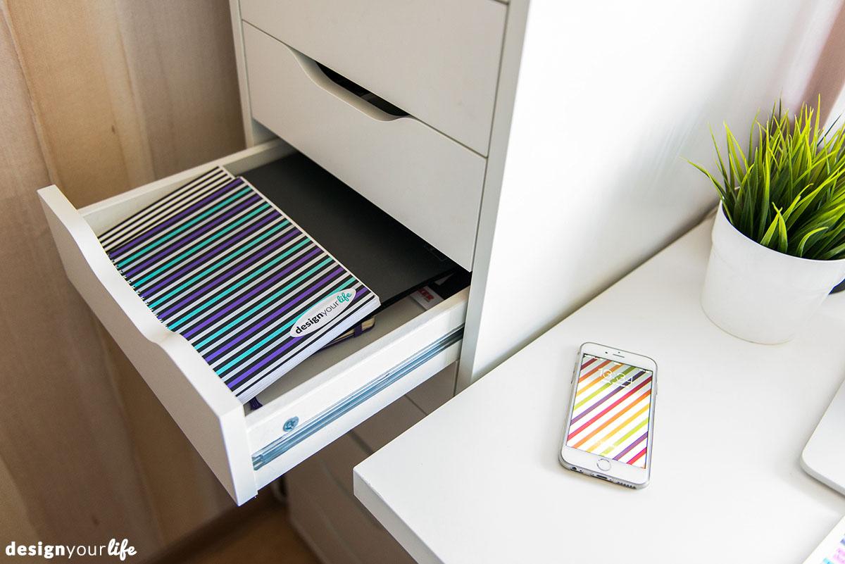 Organizacja biurka - Designyourlife.pl