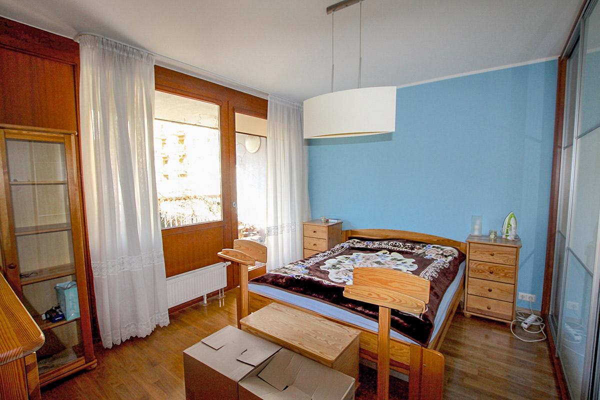 Metamorfoza home staging sypialni - Designyourlife.pl
