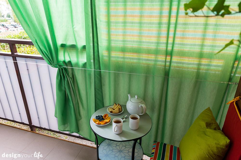 Balkon w bloku - Designyourlife.pl