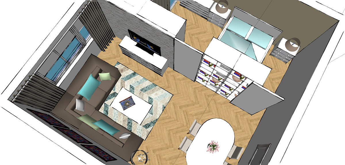 Design Your Space 9 Sypialnia W Salonie Design Your Life
