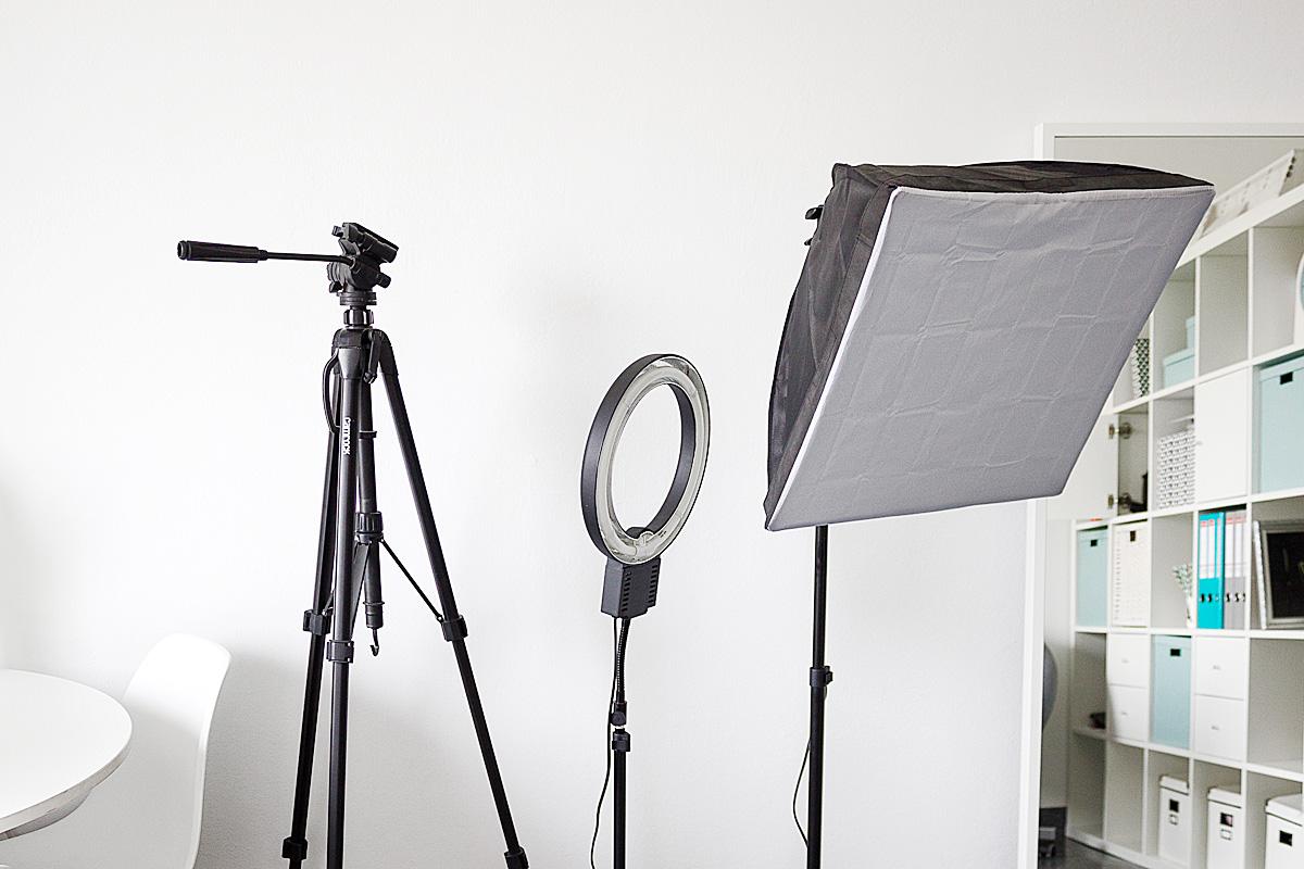 Oświetlenie do zdjęć i filmów