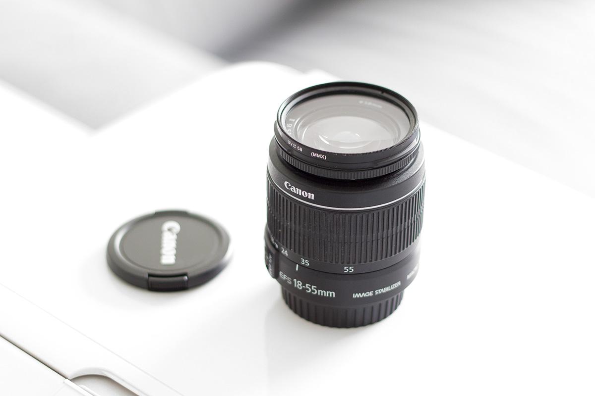 Obiektyw Canon 18-55mm