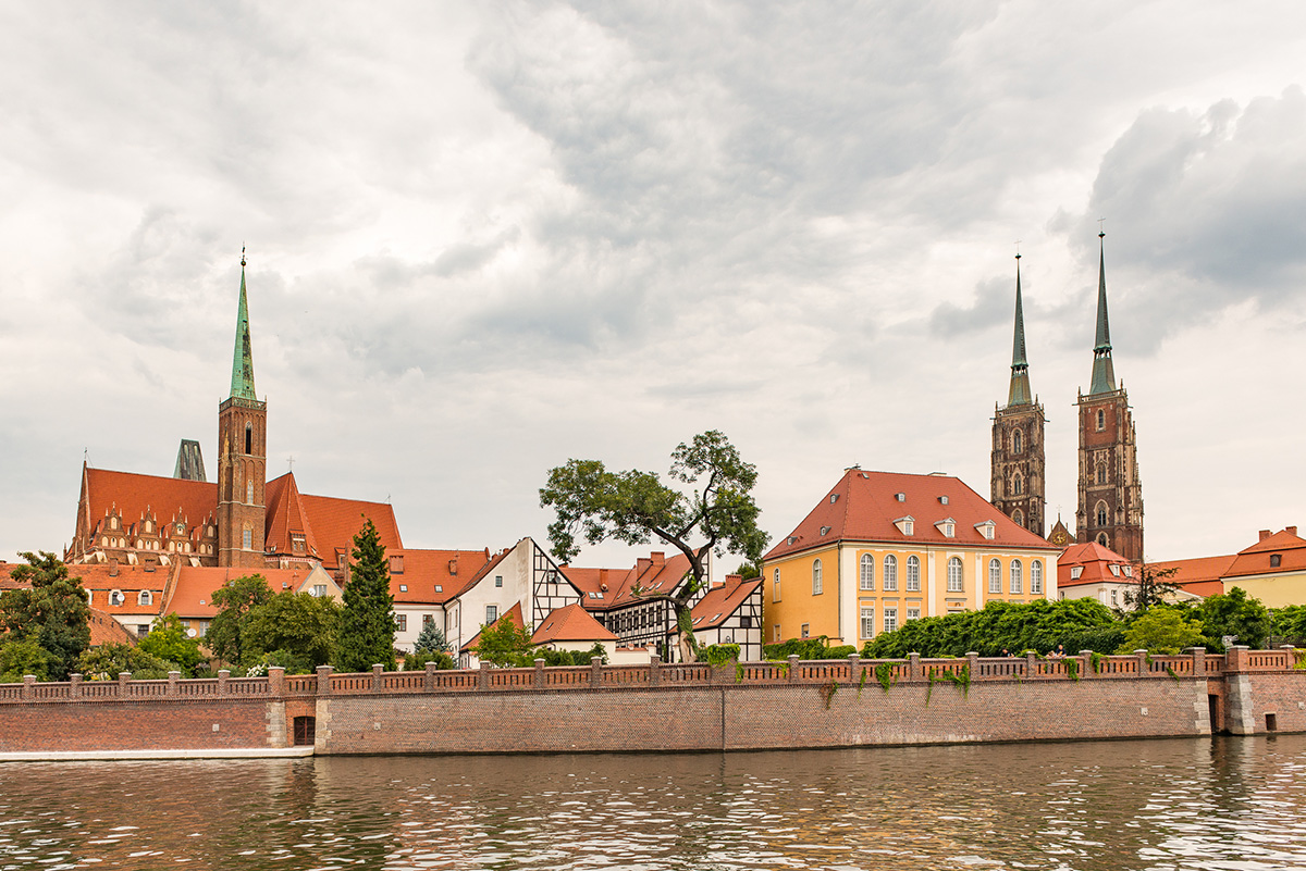 Rejs po Odrze - Wrocław