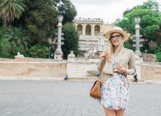 Zwiedzanie Rzymu - outfit