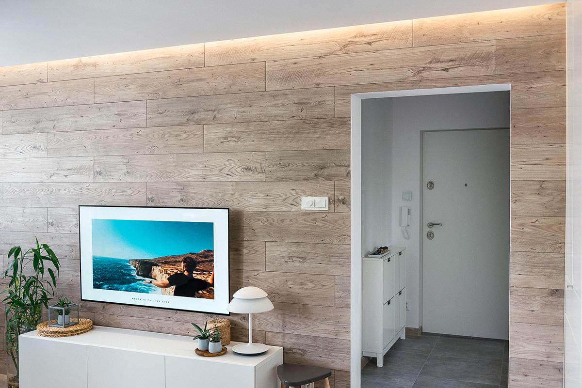 Panele na ścianie