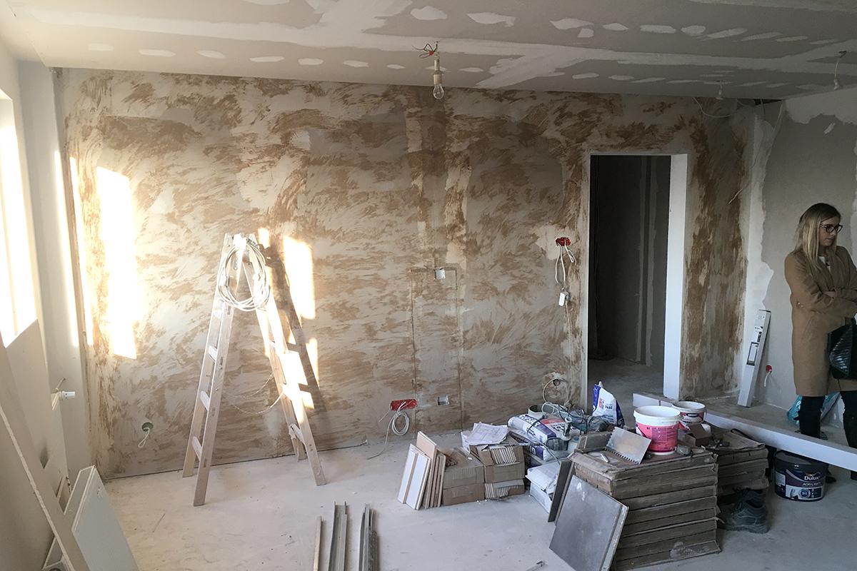 Drewniana ściana W Naszym Salonie Jak I Z Czego Została Zrobiona