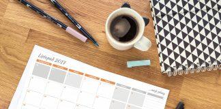 planner miesięczny