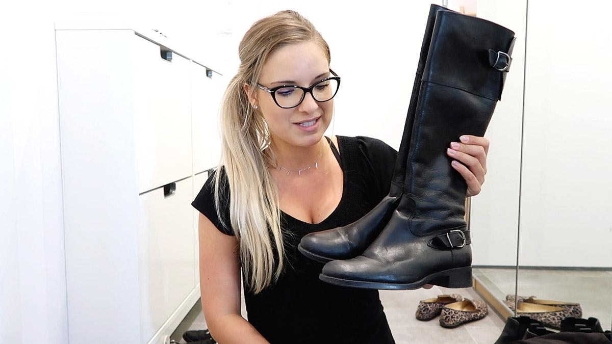 Porządki w butach