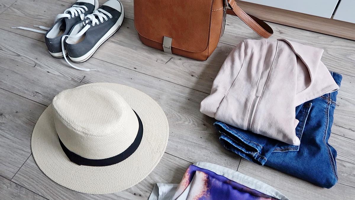 Outfit na podróż