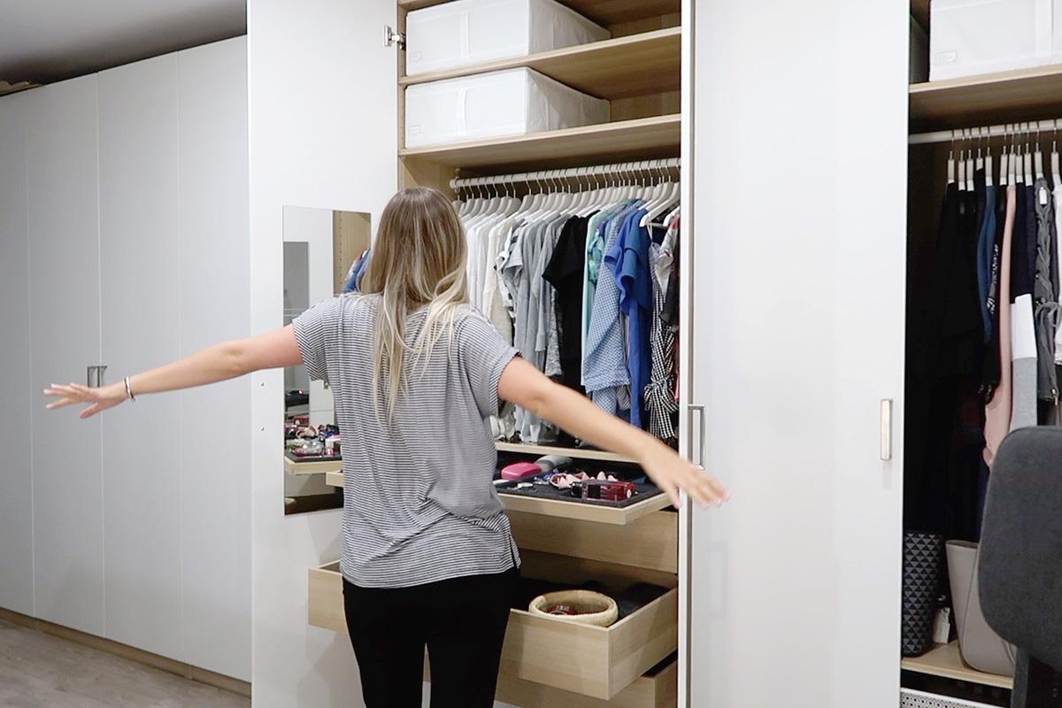 Porządki i organizacja w szafie